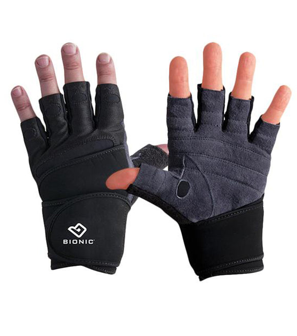 Mens Weightlifting Gloves with wrist support