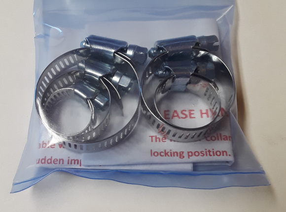High Pole Safety Worm Gear Clamp Set, Replacement