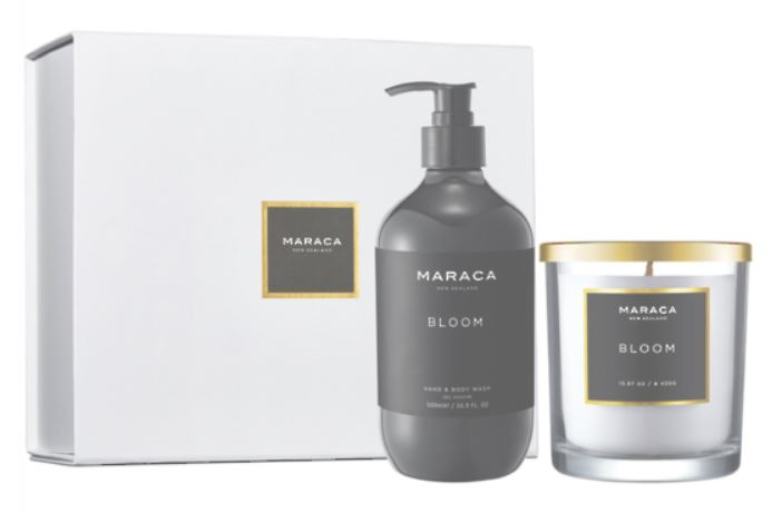 Body & Home Gift Collection (Candle & Body Wash) BLOOM
