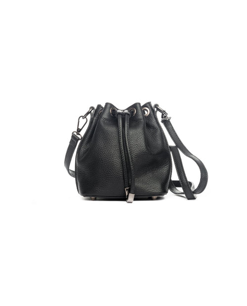 Italian Leather Pia Sassi Handbag