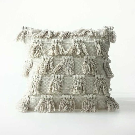 FRINGE Cushion / 100% cotton