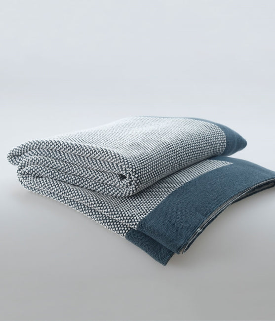 MOSS Throw Bluestone / 100% cotton