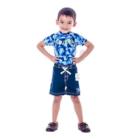 Boy's Nautica Sport Navy & Shorts set/2 pieces