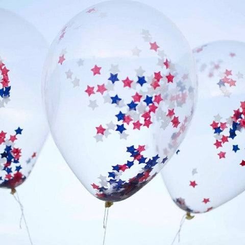 Confetti Balloons Without Helium
