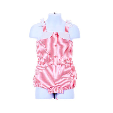 Girl's Gymboree Pinstriped Romper