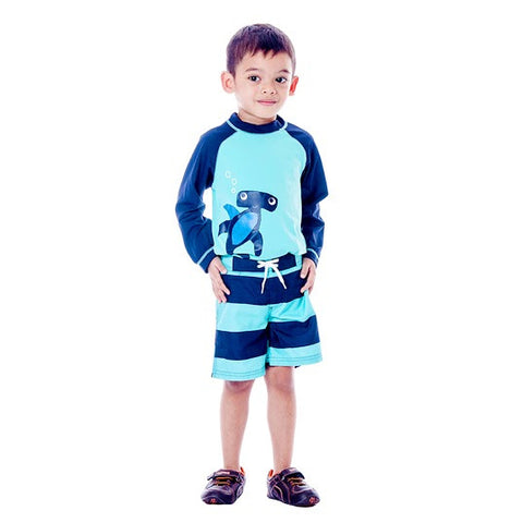 Boy's Gymboree Swimwear Hammerhead Shark Top