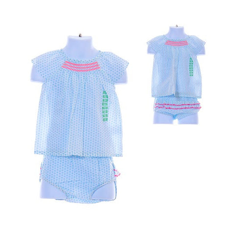 Girl's Carter's Diapercover set/3 pieces