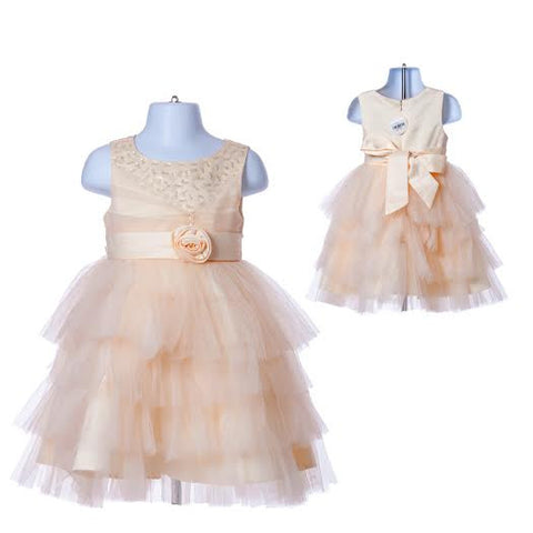 Girl's Princess Flower Girl's Dress