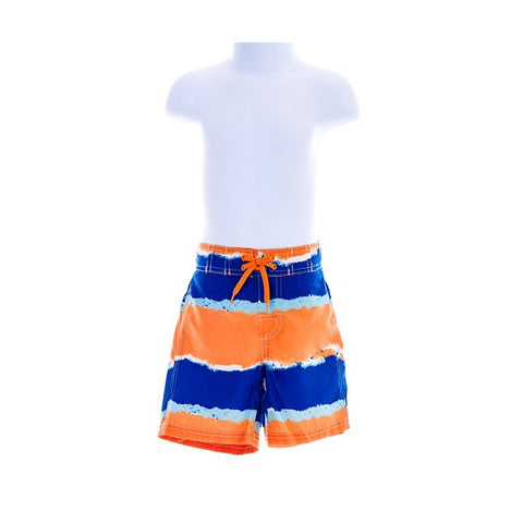 Boy's Gymboree UPF 50+ Striped Swimming Shorts
