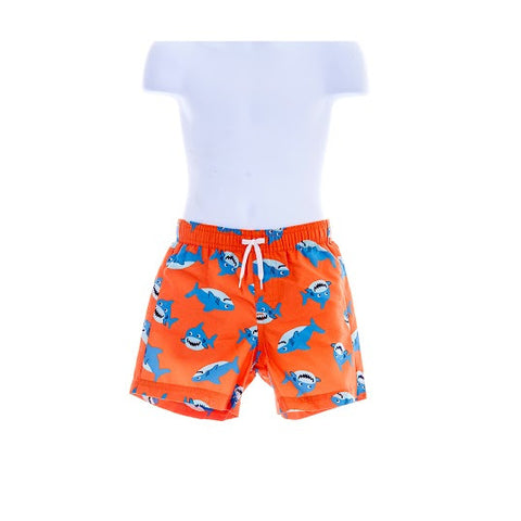 Boy's Gymboree UPF 50+ Shark Time Swimming shorts