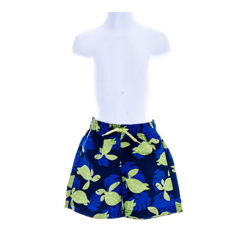 Boy's Gymboree UPF 50+ Turtle Swimming Shorts