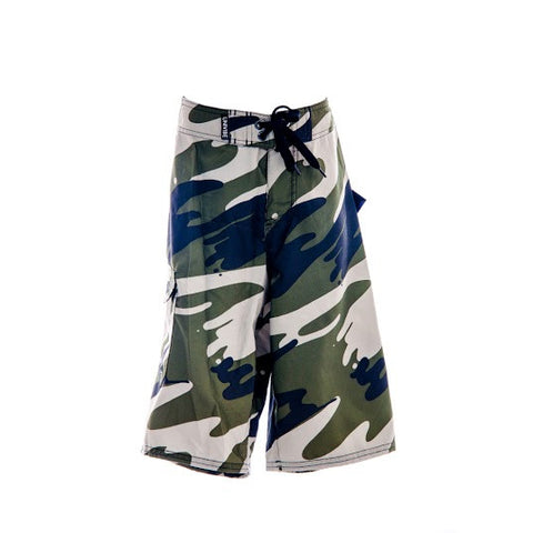 Boy's Univibe Camo Swimming Short