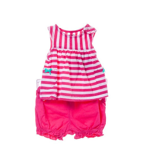 Girl's Carter's Striped & PolkaDot Design set/3 pieces