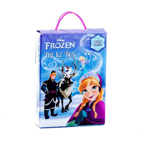 Disney Frozen Ice Box - 4 Board Books