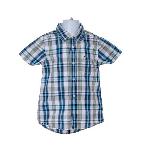 Boy's Tommy Hilfiger Short Sleeved Shirt