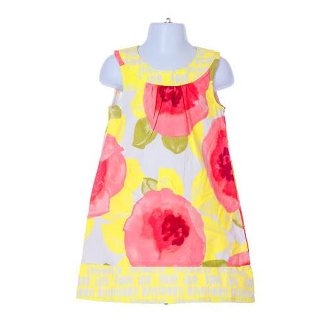 Girl's Gymboree Watercolour Floral Dress