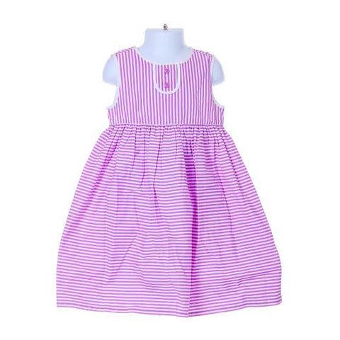Girl's Gymboree Sleeveless Striped Dress