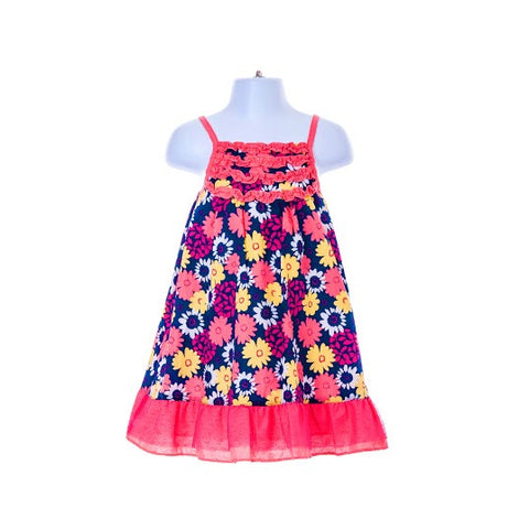 Girl's Penelope Mack sleeveless Flowered Dress