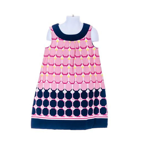 Girl's Gymboree Geo Print Dress