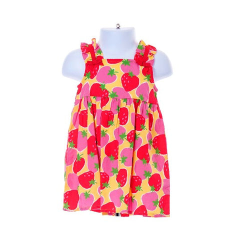 Girl's Gymboree Sleeveless Dress Strawberry Design