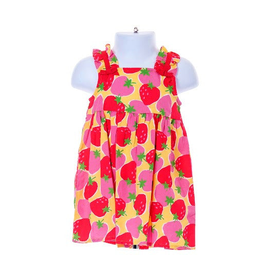 4ada4da51a6 Girl s Gymboree Sleeveless Dress Strawberry Design