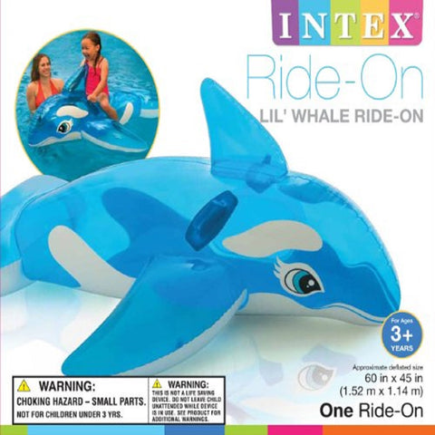 LIL WHALE RIDE-ON