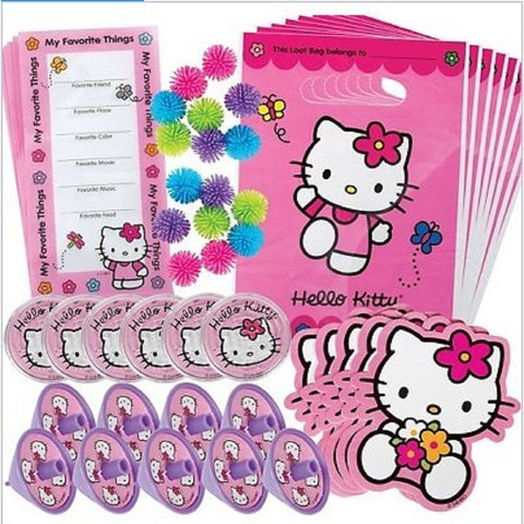 Hello Kitty Party Favors Pack 48 Pieces