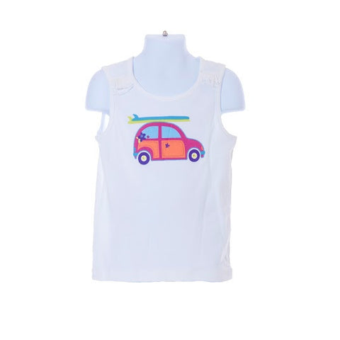 Girl's Gymboree Sleeveless Car T-shirt Design