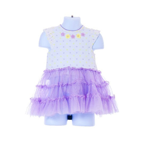 Girl's Little Me Flower Tutu Dress