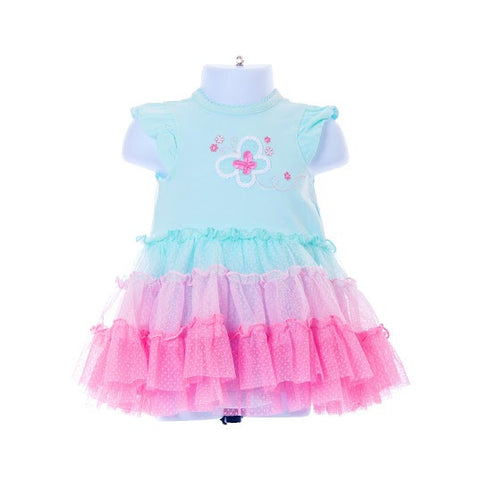 Girl's Little Me Butterfly Tutu Dress