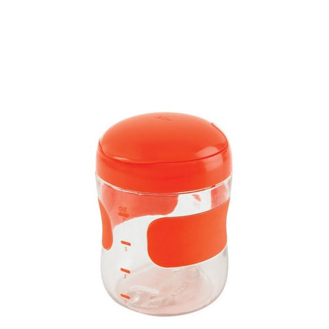 Large Flip-Top Snack Cup - ORANGE
