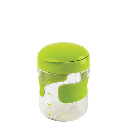Large Flip-Top Snack Cup - GREEN