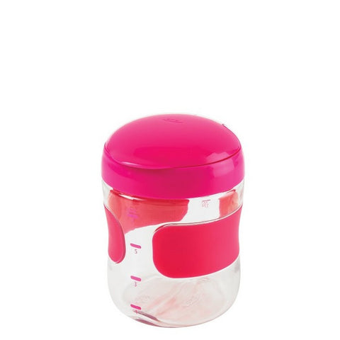 Large Flip-Top Snack Cup - PINK