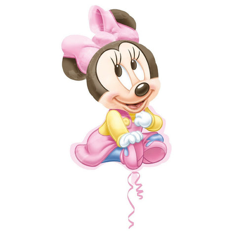 Disney Minnie Baby Supershape Foil Balloon