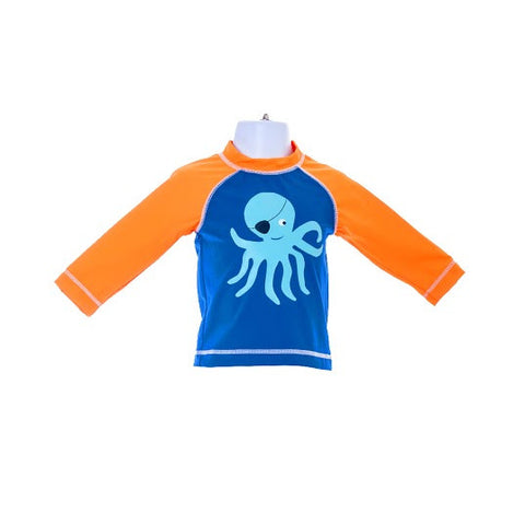 Boy's Gymboree Top Pirate Octopus Swimwear