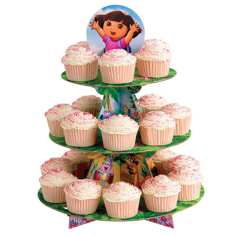 Nickelodeon Dora the Explorer Cupcake Stand