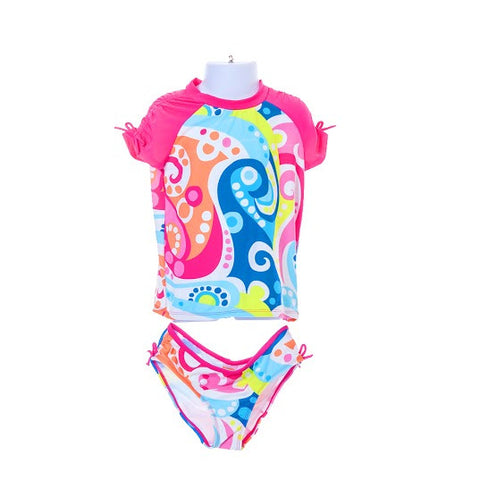 Girl's Gymboree Abstract Print Swimwear set/2 pieces