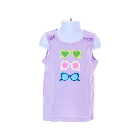 Girl's Gymboree Sleeveless Top Sunglasses Design