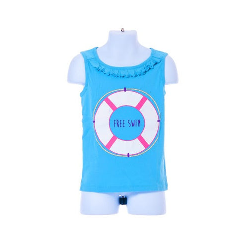 Girl's Gymboree Sleeveless Top Float Design