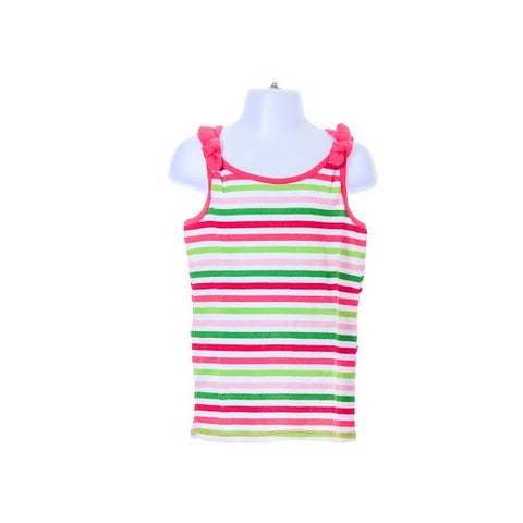 Girl's Gymboree Sleeveless Striped Top