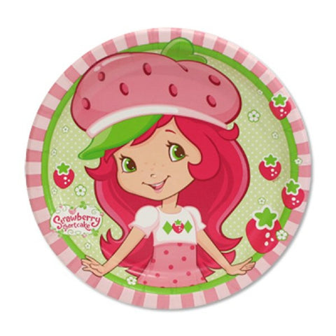 Strawberry Shortcake Paper Party Plates
