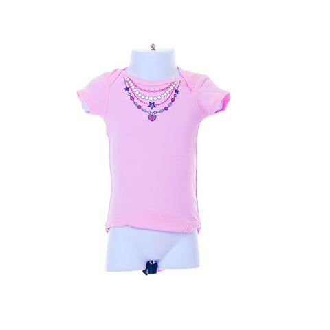 Girl's Luvable Friend's Necklace Bodysuit
