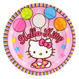 Hello Kitty Paper Party Plates