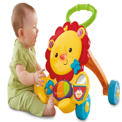 Fisher-Price Musical Lion Walker