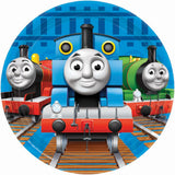 Thomas The Tank Paper Party Plates