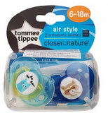 Tommee Tippee Closer To Nature Air Style Soother (6-18m)