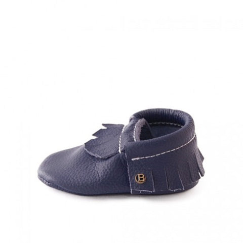 BEBE  BUNDO - Dark Blue - Moccasins