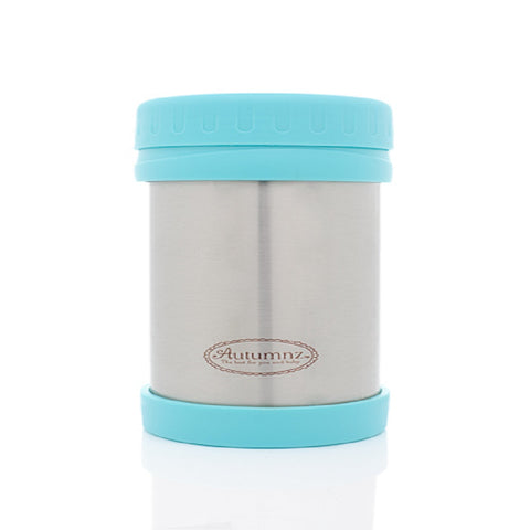 Autumnz - Stainless Steel Food Jar 500ml *Blue*