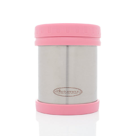Autumnz - Stainless Steel Food Jar 500ml *Pink*