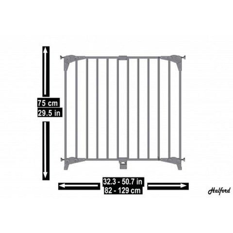 Halford Double Panel Gate